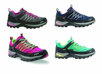 CMP RIGEL LOW WMN Trekking Shoes WP Womens Lace-Up Hiking Shoes