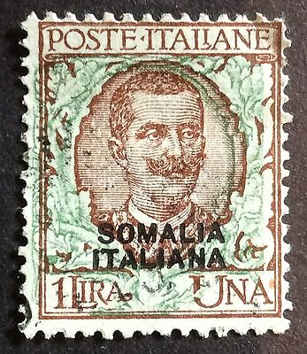 Somalia 1926 1l brown-green SG 97 FU