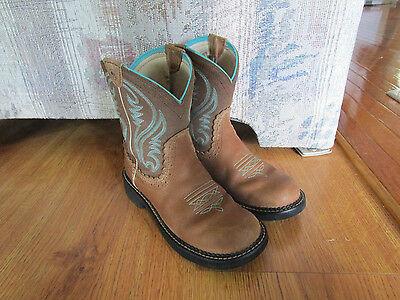 Ariat Women's Fatbaby Heritage Western Boots Size 6 1/2B