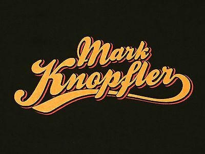 Mark Knopfler North American Tour 2012 Concert Tour Shirt XL Dire Straits