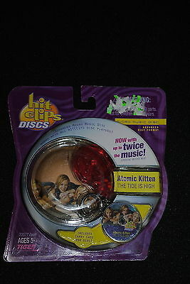 Hit Clips Micro Music Disc Atomic Kitten The Tide Is High Clippable Music Toy