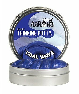 "Crazy Aaron's Thinking Putty Magnetics - Tidal Wave Large 4""/10cm Tin"