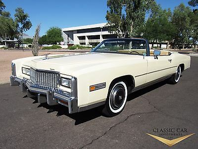 1976 Cadillac Eldorado Convertible 1976 Cadillac Eldorado Convertible - Beautiful, All Original Car - Must See!!