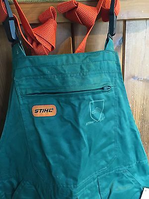 STIHL Chainsaw Safety Protection Bib Brace Trousers