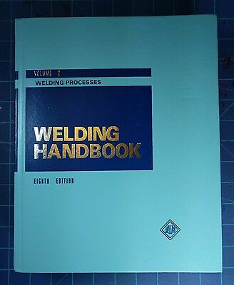 AWS Welding Handbook Volume 2 Eighth Edition Welding Processes