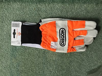 Brand New Oregon 91305L Chainsaw Gloves Large Size 10
