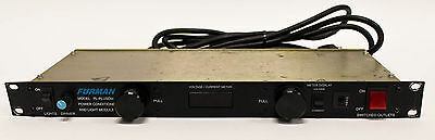 Furman Model PL-PLUSDM Power Conditioner and Light Module Rack Unit 1U