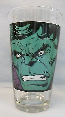 Incredible Hulk ~ Close up ~ New 16 oz  Glass by ICUP