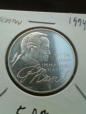 1974-D Germany 5 Mark KM#139 - Silver Coin