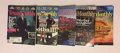Lot Of 11 Texas Monthly Magazines 2006 And 2009