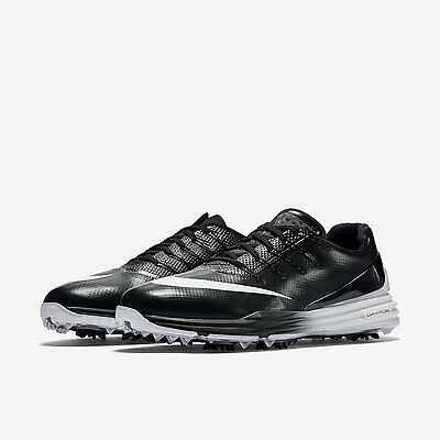 NEW Mens Nike Lunar Control 4 golf shoes Black, White 819037-001 Wide Sizes