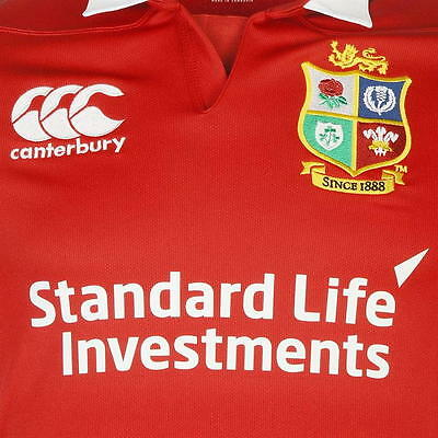 British Lions Rugby Jersey 2017 Red Size XL (Sizes S-XXXL Available)