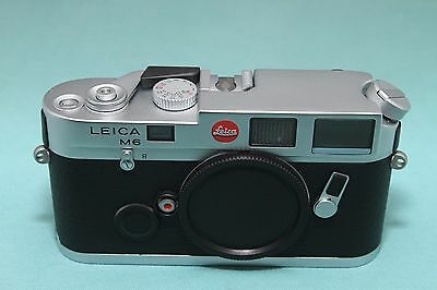 Leica M6 35mm Rangefinder Camera with maker's box