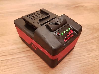 Snap on MonsterLithium Ion Battery 18v 4.0Ah CTB8185 For Impact Wrench,Drill,LED