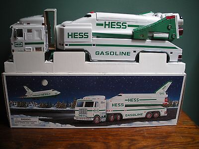 HESS 1999 Toy Truck and Space Shuttle