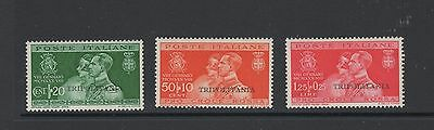 TRIPOLITANIA 1930 MARRIAGE Set of 3 Stamps MINT