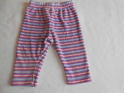 Baby Girls Clothes 6-9  Months - Next Velour Trousers -