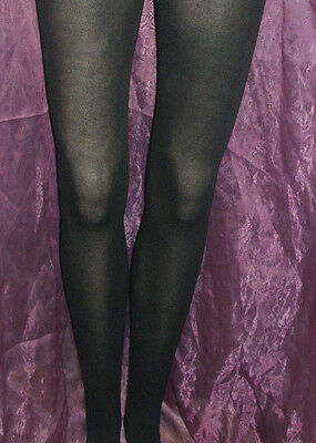 Lot Of 24 Pairs Of Semi Opaque Black Tights