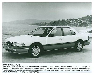 1987 Acura Legend Automobile Factory Photo ch5742