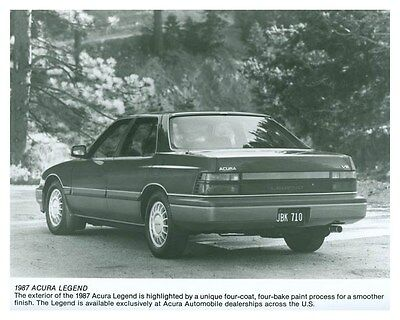 1987 Acura Legend Automobile Factory Photo ch5744