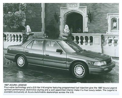 1987 Acura Legend Automobile Factory Photo ch5745