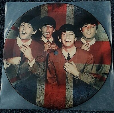 The Beatles - 7 Inch Heavyweight Picture Disc - Love Me Do / Ps I Love You -Mint