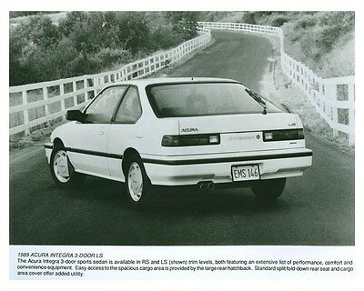 1989 Acura Integra 5 Door LS Automobile Factory Photo ch5707