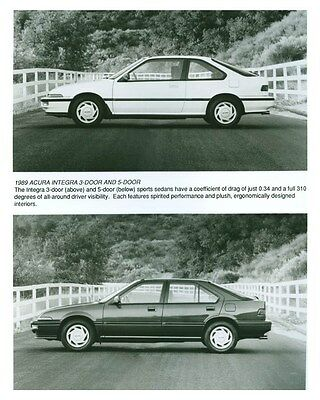 1989 Acura Integra 3 Door & 5 Door Automobile Factory Photo ch5708