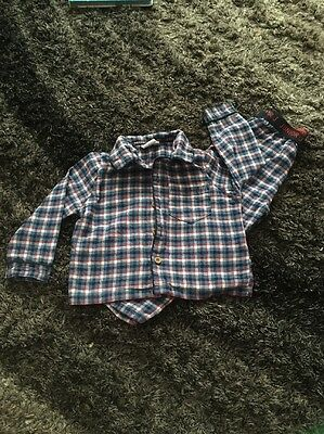 Baby Boys Junior J Traditional PJ's - Age 12-18 Months