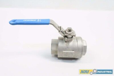 Jamesbury 6F-3600MT-B 1000cwp 1-1/2 In Npt Stainless Ball Valve