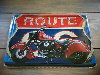 Route 66 Bike Sign
