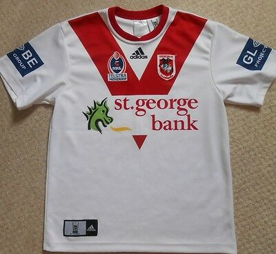 St'George/Illawarra Dragons Rugby League Match Spec Shirt. 3 GASNIER. M - NRL.