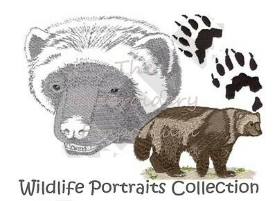 Wildlife Portraits Collection - Machine Embroidery Designs On Cd