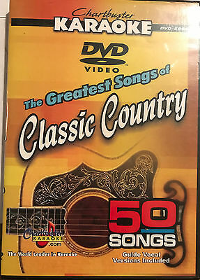 The Greatest Songs of Classic Country - Chartbuster Karaoke DVD-  50 Great Songs