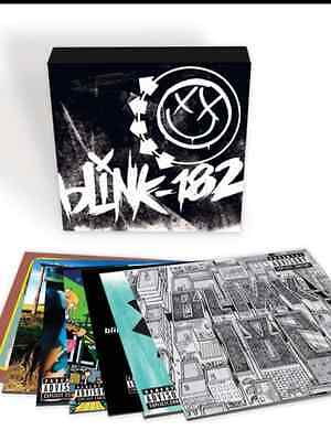 Blink 182 - Complete Albums Box Set 10 x VINYL LP SET NEW AND SEALED /500
