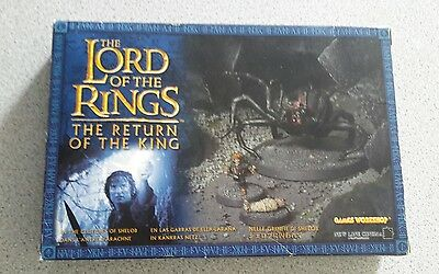 Lotr in the clutches of shelob warhammer games workshop boxed complete? Bundle