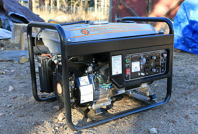 3300W GAS POWERED GENERATOR - Dirty Hand Tools
