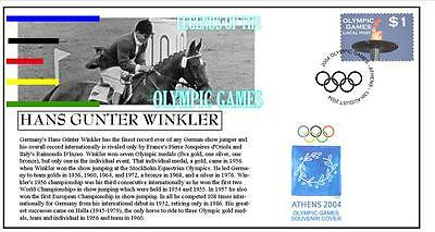 Olympic Games Legends Cover, Hans Winkler Equestrian