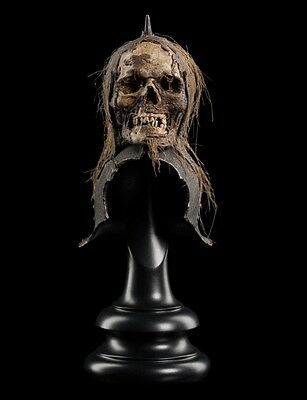 SKULL TROPHY HELM OF THE ORC LIEUTENANT Limited Edition of 750 THE WETA CAVE