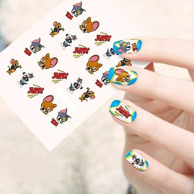 Planche stickers water decal pour ongles - Nail Art