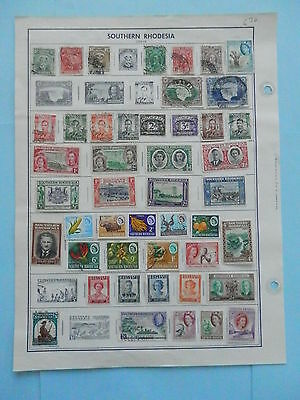 Southern Rhodesia Old Collection 1924-1964 Extra Fine Dr Schultz Estate !!9091S
