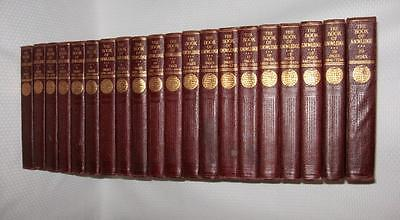 THE BOOK OF KNOWLEDGE Children's Encyclopedia Complete 20 Volume Set 1930