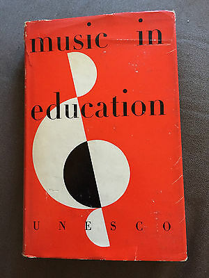 "1956 ""music In Education"" International Conference On Music Hardback Book"