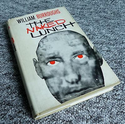 The Naked Lunch by William Burroughs - HB Book 1st UK ed 1964