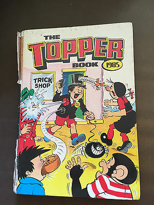 1985 The Topper Book Annual Unclipped Hardback Book