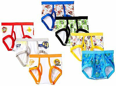Handcraft Little Boys' Toddler Paw Patrol  Brief (Pack of 7), Assorted, ...