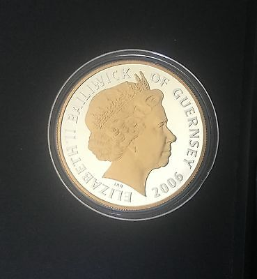 SILVER PROOF ROYAL MINT £5 coin 2006
