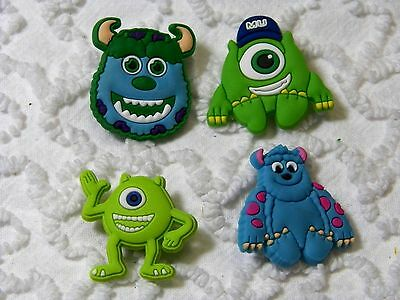 C 363 US Seller Disney Monster Inc University Shoe Charm Fits Crocs , Jibbitz,