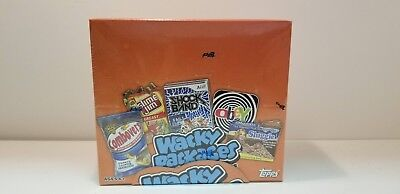 2012 Topps Wacky Packages All New Series 9 Stickers box- Laugh out loud fun