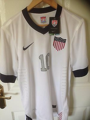 Usa Nike Home 2014 World Cup Qualifiers Donovan 10 Med Players Issue Shirt Bnwt
